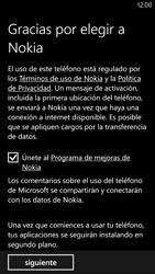 Activa el equipo - Nokia Lumia 1320 - Passo 15