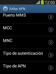 Configura el Internet - Samsung Galaxy Pocket Neo - S5310L - Passo 13