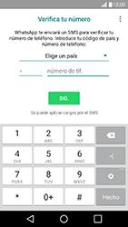 Configuración de Whatsapp - LG K10 - Passo 5