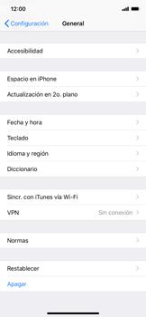 Restaura la configuración de fábrica - Apple iPhone XS Max - Passo 4