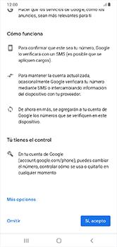 Crea una cuenta - Samsung Galaxy A10 - Passo 12