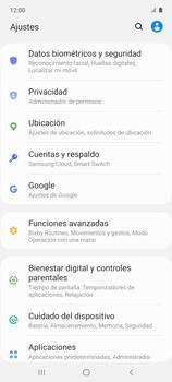 Cómo habilitar la función Bloqueo de aplicaciones - Samsung Galaxy A51 - Passo 4