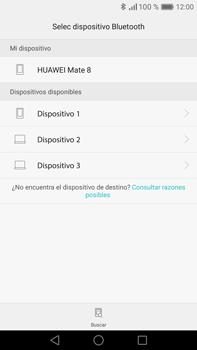 Transferir fotos vía Bluetooth - Huawei Mate 8 - Passo 10
