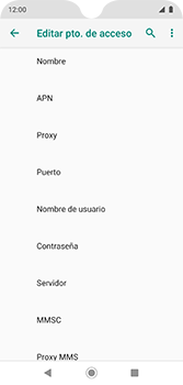 Configura el Internet - Motorola Moto G7 Plus - Passo 12