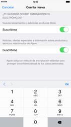 Crea una cuenta - Apple iPhone 6 Plus - Passo 15