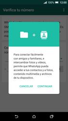 Configuración de Whatsapp - HTC One A9 - Passo 5