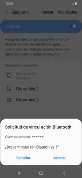 Conecta con otro dispositivo Bluetooth - Samsung Galaxy A50 - Passo 8