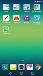 Configuración de Whatsapp - LG X Cam - Passo 3