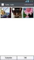 Envía fotos, videos y audio por mensaje de texto - LG Optimus G Pro Lite - Passo 17