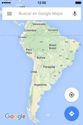 Uso de la navegación GPS - Apple iPhone 4s - Passo 8