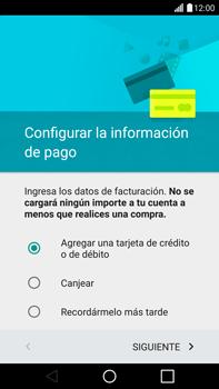 Crea una cuenta - LG G4 - Passo 18