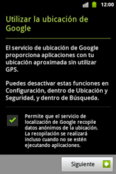 Activa el equipo - Samsung Galaxy Ace  GT - S5830 - Passo 4