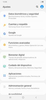 Sincronizar la información con Gmail - Samsung Galaxy A30 - Passo 4