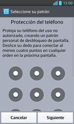 Desbloqueo del equipo por medio del patrón - LG Optimus L5 II - Passo 7
