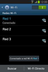 Configura el WiFi - Samsung Galaxy Fame GT - S6810 - Passo 8