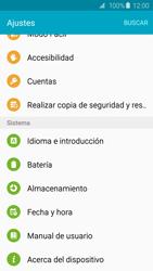 Actualiza el software del equipo - Samsung Galaxy S6 - G920 - Passo 5