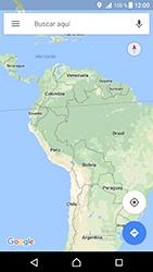 Uso de la navegación GPS - Sony Xperia XZ Premium - Passo 7