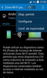 Configura el hotspot móvil - Samsung Galaxy Core 2 - G355 - Passo 7