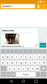 Envía fotos, videos y audio por mensaje de texto - LG V10 - Passo 18