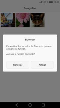 Transferir fotos vía Bluetooth - Huawei Mate 8 - Passo 9