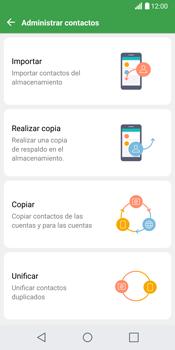 ¿Tu equipo puede copiar contactos a la SIM card? - LG G6 - Passo 7