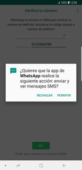 Configuración de Whatsapp - Samsung Galaxy S9 Plus - Passo 11