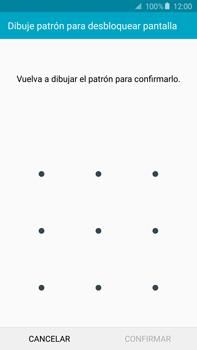 Desbloqueo del equipo por medio del patrón - Samsung Galaxy Note 5 - N920 - Passo 9