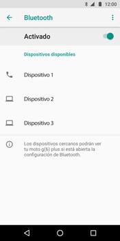 Conecta con otro dispositivo Bluetooth - Motorola Moto G6 Plus - Passo 7