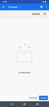 Transferir datos desde tu dispositivo a la tarjeta SD - Motorola One Zoom - Passo 14