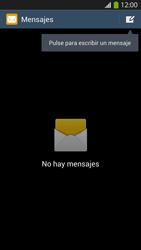 Envía fotos, videos y audio por mensaje de texto - Samsung Galaxy S4  GT - I9500 - Passo 3