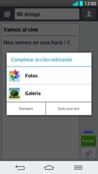 Envía fotos, videos y audio por mensaje de texto - LG G2 - Passo 14