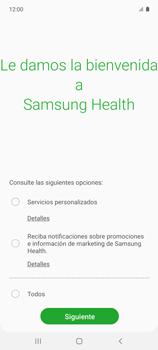 Cómo funciona el Samsung Health - Samsung Galaxy A51 - Passo 6