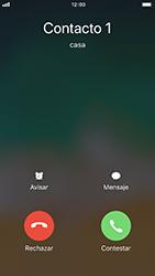 Contesta, rechaza o silencia una llamada - Apple iPhone 8 - Passo 3