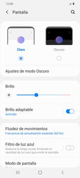 Cómo activar el modo Descanso visual para evitar la fatiga visual - Samsung Galaxy S20 - Passo 4