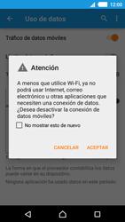 Desactiva tu conexión de datos - Sony Xperia M4 Aqua E2303 - Passo 5