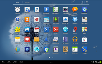 Uso de la navegación GPS - Samsung Galaxy Note 10-1 - N8000 - Passo 3
