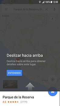 Uso de la navegación GPS - Samsung Galaxy J7 Prime - Passo 11