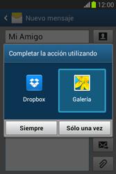Envía fotos, videos y audio por mensaje de texto - Samsung Galaxy Fame Lite - S6790 - Passo 15