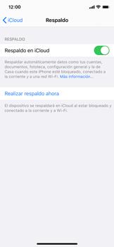 Realiza una copia de seguridad con tu cuenta - Apple iPhone XS - Passo 12