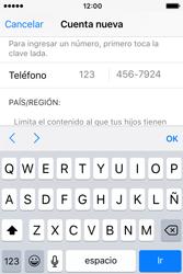 Crea una cuenta - Apple iPhone 4s - Passo 22
