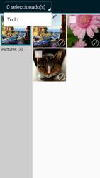 Transferir fotos vía Bluetooth - Samsung Galaxy A3 - A300M - Passo 10