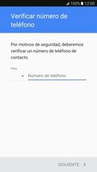 Crea una cuenta - Samsung Galaxy S7 - G930 - Passo 6