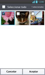 Envía fotos, videos y audio por mensaje de texto - LG Optimus L 7 II - Passo 15