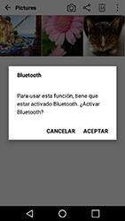 Transferir fotos vía Bluetooth - LG X Power - Passo 9