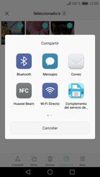 Transferir fotos vía Bluetooth - Huawei P9 - Passo 9