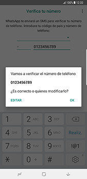 Configuración de Whatsapp - Samsung Galaxy Note 8 - Passo 9
