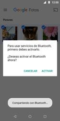 Transferir fotos vía Bluetooth - Motorola Moto E5 Play - Passo 10