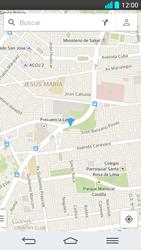 Uso de la navegación GPS - LG G2 - Passo 11