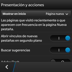 Configura el Internet - BlackBerry Q5 - Passo 17