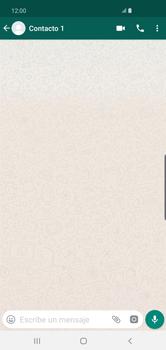 Usar WhatsApp - Samsung S10+ - Passo 5